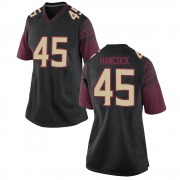 Replica Women's Tylus Hancock Florida State Seminoles Black Football College Jersey